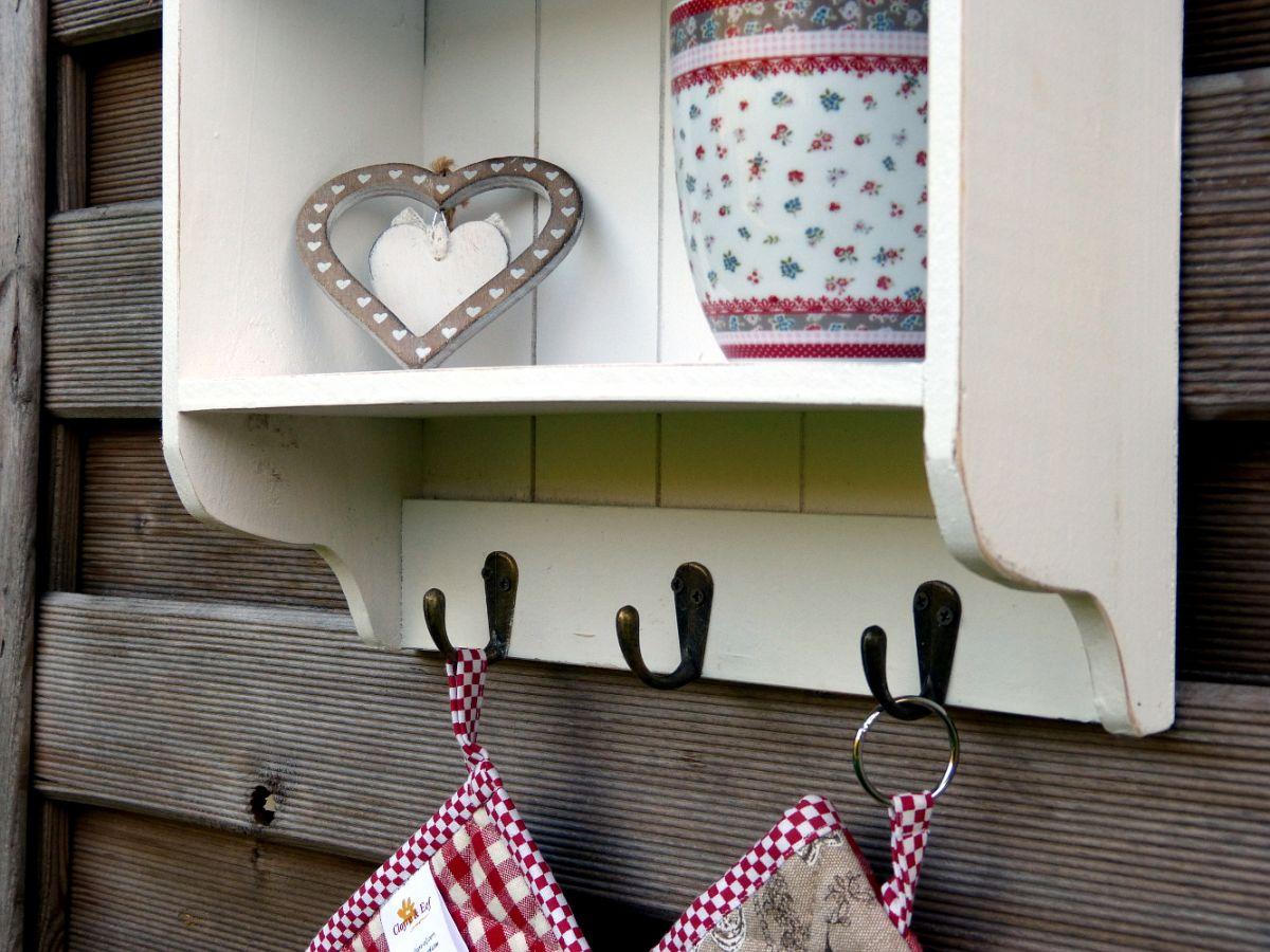 Aufbewahrungsregal Küchenregal Wandregal Regal für Küche Ablage 16