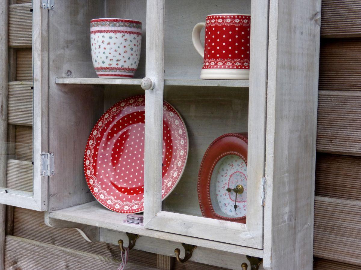 Wandschrank Hängeschrank Küchenschrank Wandgarderobe Garderobe mit 3 ...