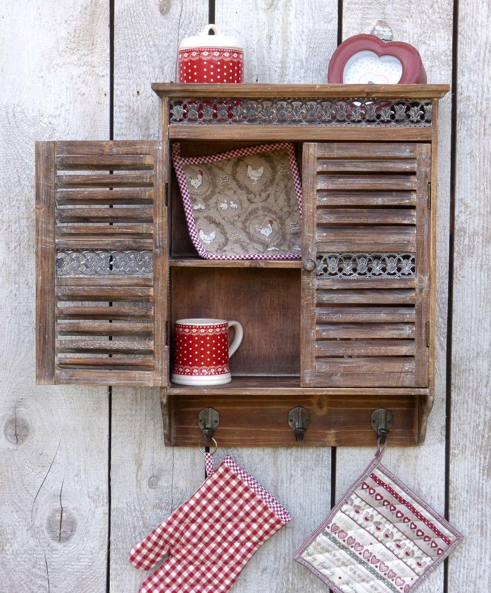 Landhaus kuchenschrank for Vintage kuchenschrank